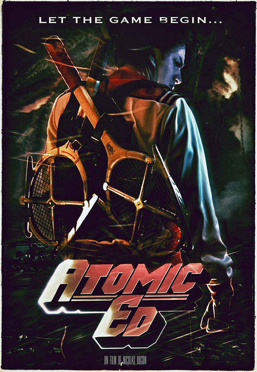 Affiche atomic ed light